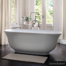 Victoria + Albert Amiata freistehende Badewanne weiß glanz/innen weiß glanz
