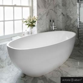 Victoria + Albert Barcelona 3 freistehende Badewanne weiß glanz/innen weiß glanz