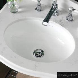 Victoria + Albert Kaali 46 Unterbau-Waschtisch weiß