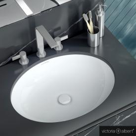 Victoria + Albert Kaali Unterbau-Waschtisch weiß