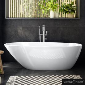 Victoria + Albert Mozzano 2 freistehende Badewanne weiß glanz/innen weiß glanz
