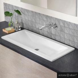 Victoria + Albert Rossendale Einbau-Waschtisch weiß
