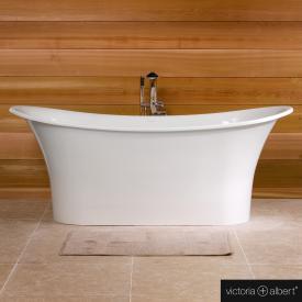 Victoria + Albert Toulouse freistehende Badewanne weiß