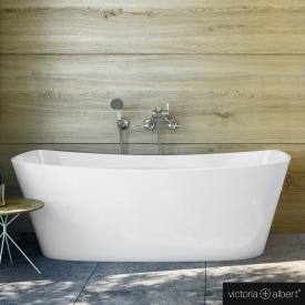 Victoria + Albert Trivento freistehende Badewanne weiß