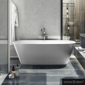 Victoria + Albert Vetralla 2 freistehende Badewanne weiß glanz/innen weiß glanz