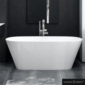Victoria + Albert Vetralla freistehende Badewanne weiß glanz/innen weiß glanz