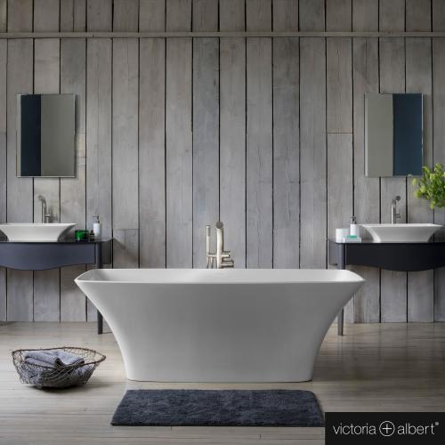 victoria albert ravello freistehende badewanne wei rav n sw no reuter. Black Bedroom Furniture Sets. Home Design Ideas