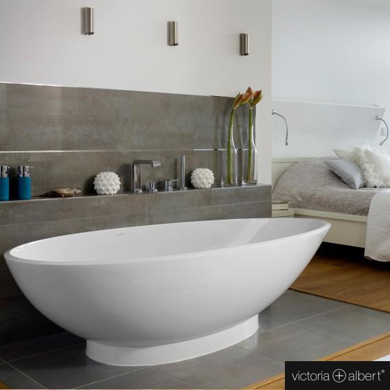 Victoria + Albert Napoli freistehende Badewanne weiß