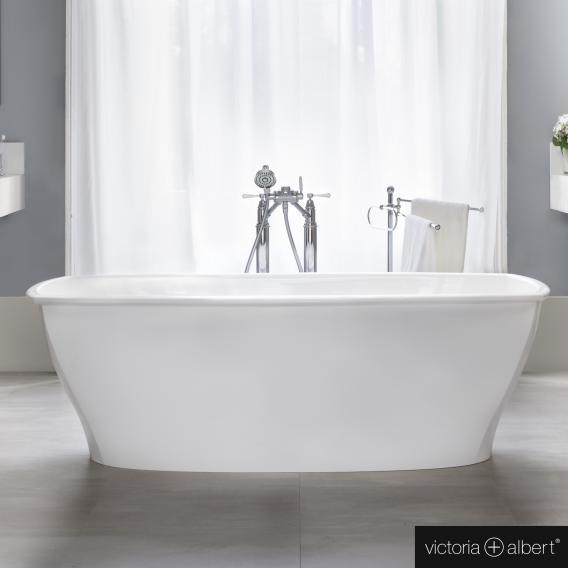 Victoria + Albert Pembroke freistehende Badewanne weiß