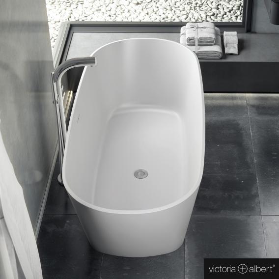Victoria + Albert Vetralla 2 freistehende Badewanne weiß