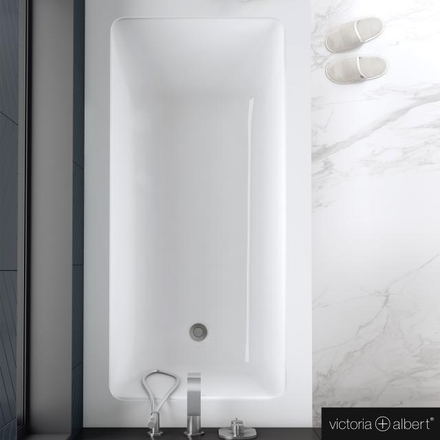 Victoria + Albert Kaldera Rechteck-Badewanne, Einbau