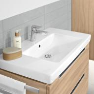 Villeroy & Boch Subway 2.0 vanity washbasin white with CeramicPlus with 1 tap hole