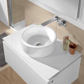 Villeroy & Boch Architectura Aufsatzwaschtisch weiß, mit CeramicPlus ohne Überlauf