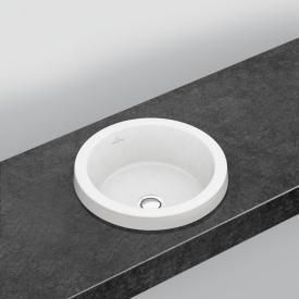 Villeroy & Boch Architectura Einbauwaschtisch weiß mit CeramicPlus mit Überlauf