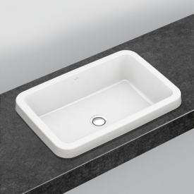 Villeroy & Boch Architectura Einbauwaschtisch weiß, mit CeramicPlus mit Überlauf