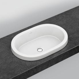 Villeroy & Boch Architectura Einbauwaschtisch weiß, mit Überlauf