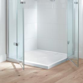 Villeroy & Boch Architectura MetalRim Duschwanne, flach Randhöhe 4,8 cm weiß