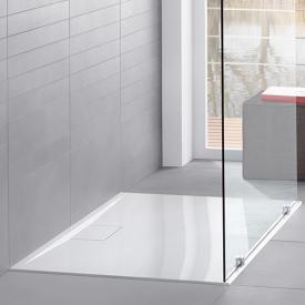 Villeroy & Boch Architectura MetalRim Duschwannen Komplettset Randhöhe 1,5 cm weiß mit VilboGrip