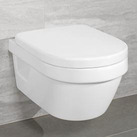 Villeroy & Boch Architectura Wand-Tiefspül-WC Compact offener Spülrand weiß, mit CeramicPlus und AntiBac