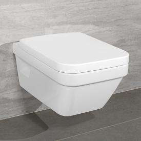 Villeroy & Boch Architectura Wand-Tiefspül-WC L:53 B:37 cm, offener Spülrand weiß mit CeramicPlus