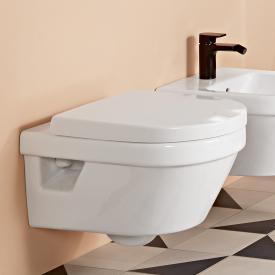 Villeroy & Boch Architectura Wand-Tiefspül-WC ohne Spülrand, weiß, mit CeramicPlus und AntiBac