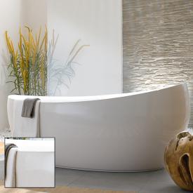 Villeroy U0026 Boch Aveo New Generation Freistehende Badewanne Weiß, Mit Ab   Und Überlauf