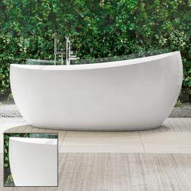 Villeroy & Boch Aveo New Generation Freistehende Oval-Badewanne weiß, mit Ab- und Überlauf