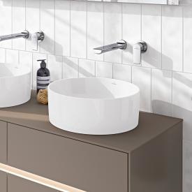 Villeroy & Boch Collaro Aufsatzwaschtisch stone white mit CeramicPlus
