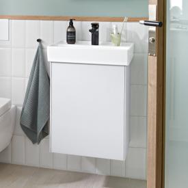 Villeroy & Boch Collaro Handwaschbeckenunterschrank mit 1 Tür Front weiß matt / Korpus weiß matt