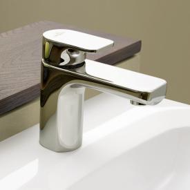 Villeroy & Boch Cult Waschtisch-Einhandbatterie ohne Ablaufgarnitur, chrom