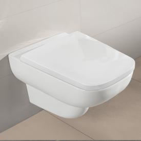 Villeroy & Boch Joyce Wand-Tiefspül-WC, offener Spülrand, DirectFlush weiß mit CeramicPlus