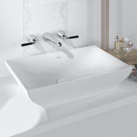 Villeroy & Boch La Belle Aufsatzwaschtisch weiß mit CeramicPlus, ohne Überlauf