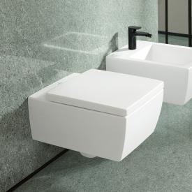 Villeroy & Boch Memento 2.0 Wand-Tiefspül-WC, spülrandlos stone white, mit CeramicPlus