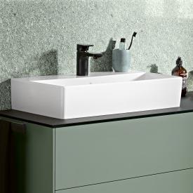 Villeroy & Boch Memento 2.0 Waschtisch weiß mit CeramicPlus, mit 1 Hahnloch, ohne Überlauf, geschliffen