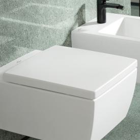 Villeroy & Boch Memento 2.0 WC-Sitz, abnehmbar, mit Absenkautomatik weiß
