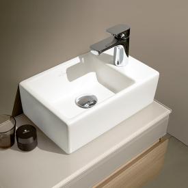 Villeroy & Boch Memento Handwaschbecken weiß mit CeramicPlus, geschliffen