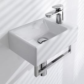 Villeroy & Boch Memento Handwaschbecken weiß, mit CeramicPlus, ungeschliffen