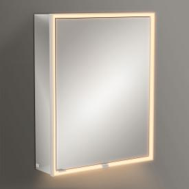 Villeroy & Boch My View Now Aufputz-Spiegelschrank mit LED-Beleuchtung mit 1 Tür Anschlag rechts, mit Sensordimmer