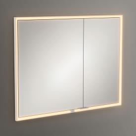 Villeroy & Boch My View Now Einbau-Spiegelschrank mit LED-Beleuchtung mit 2 Türen mit Sensordimmer