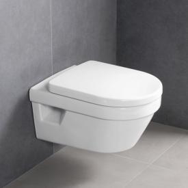 Villeroy & Boch Omnia Architectura Wand-Tiefspül-WC mit offenem Spülrand, mit WC-Sitz