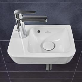 Villeroy & Boch O.novo Compact Handwaschbecken weiß,  mit Überlauf