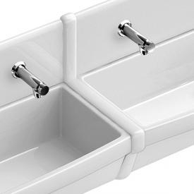 Villeroy & Boch O.novo Deckleiste zwischen Rückwandplatten weiß