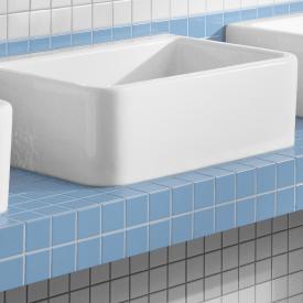 Villeroy & Boch O.novo Spülbecken ohne Überlauf weiß mit CeramicPlus
