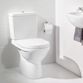 Villeroy & Boch O.novo Stand-Tiefspül-WC für Kombination weiß mit CeramicPlus Abgang senkrecht