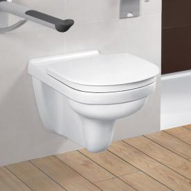 Villeroy & Boch O.novo Vita Wand-Tiefspül-WC, offener Spülrand, DirectFlush weiß