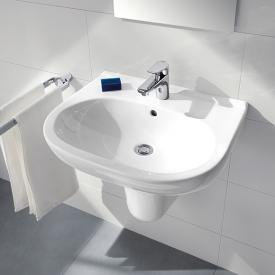 Villeroy & Boch O.novo Waschtisch weiß, mit CeramicPlus mit Überlauf
