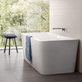 Villeroy & Boch Squaro Excellence Duo Freistehende Rechteck-Badewanne stone white ohne integriertem Wassereinlauf