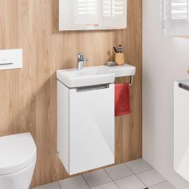Villeroy & Boch Subway 2.0 Handwaschbecken mit Waschtischunterschrank mit 1 Tür