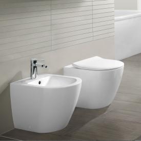 Villeroy & Boch Subway 2.0 Stand-Tiefspül-WC, offener Spülrand weiß, mit CeramicPlus