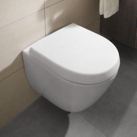 Villeroy & Boch Subway 2.0 Wand-Tiefspül-WC Compact mit Spülrand, weiß
